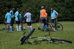 Polo de bicyclette Photographie stock libre de droits