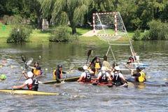 Polo de kayak Photo stock