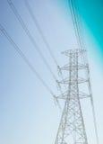 Polo de la electricidad Imágenes de archivo libres de regalías