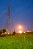 Polo e hierba de alto voltaje Foto de archivo