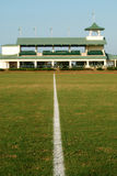 Polo Field with Stands Royalty Free Stock Photo
