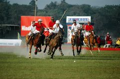 Polo Game of Kolkata-India Stock Photography