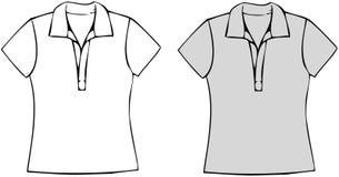 Polo-Hemden lizenzfreie abbildung