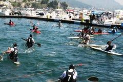 Polo kayak Royalty Free Stock Photo
