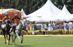Polo konie i gracze Zdjęcie Stock