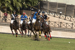 Polo Match Photographie stock