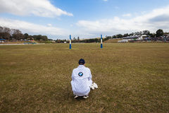 Polo Match Umpire Goals Royalty Free Stock Photos