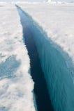 Polo nord geografico Fotografia Stock Libera da Diritti