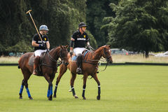 Polo players. Argentine cup. Dublin. Ireland Stock Photography