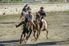 Polo players Royalty Free Stock Photo