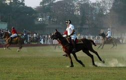 Polo playing in Kolkata-India Stock Photography