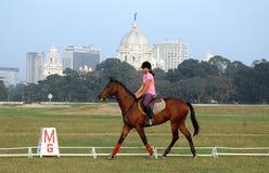 Polo playing in Kolkata-India Stock Photos