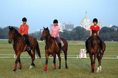 Polo playing in Kolkata-India Royalty Free Stock Photos