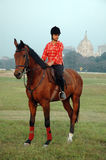 Polo playing in Kolkata-India Royalty Free Stock Images