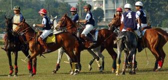 Polo playing in Kolkata-India Stock Photo