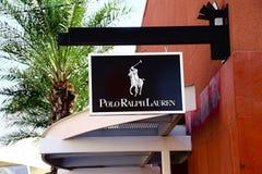 Polo Ralph Lauren logo Arkivbild