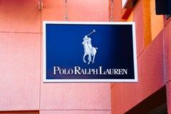 Polo Ralph Lauren logo Royaltyfri Foto