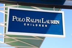 Polo Ralph Lauren logo Royaltyfri Bild