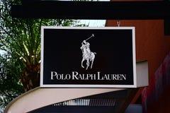 Polo Ralph Lauren logo Arkivbilder