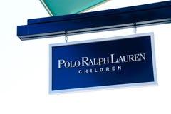 Polo Ralph Lauren logo Fotografering för Bildbyråer