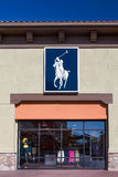 Polo Ralph Lauren Sttore-buitenkant Royalty-vrije Stock Afbeelding