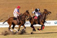 Polo Rider Horse Play Action Imagens de Stock Royalty Free