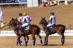 Polo Riders Horses los E.E.U.U. Foto de archivo libre de regalías