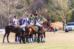 Polo Riders Horses Parade Fotografia de Stock Royalty Free