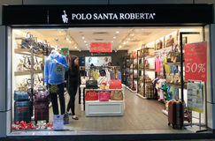 Polo santa roberta shop in hong kong Stock Images
