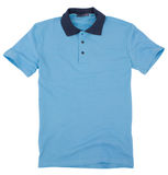 Polo shirt isolated on white background. Royalty Free Stock Photography