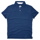 Polo shirt isolated on white background. Royalty Free Stock Images