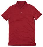 Polo shirt isolated on white background. Stock Image