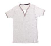 Polo Shirt nenhum colar Fotografia de Stock