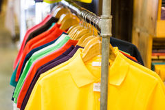 Polo Shirt for sell Royalty Free Stock Photography