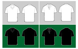 Polo shirt template Stock Photography