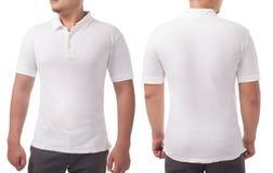 Polo Shirt Template Mock Up fotos de stock