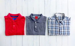 Polo shirt Stock Image