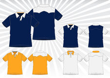 Polo Shirt Vector Royalty Free Stock Images