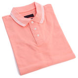 Polo shirt on white background Royalty Free Stock Images