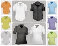 Polo shirts. stock illustration