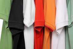 Polo shirts Royalty Free Stock Photo