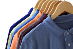 Polo Shirts Stockfotografie
