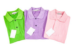 Polo Shirts Stock Photography