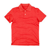Polo t-shirt isolated on white Stock Photos