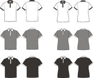 Polo t-shirts Stock Image