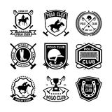Polo Vector Icons 25. Here is an awesome set of polo badges that you are sure to find very useful. Hope you really enjoy using them Royalty Free Stock Photos
