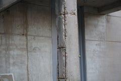Polo velho do concreto da fábrica Fotografia de Stock Royalty Free