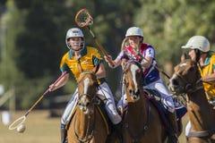 PoloCrosse Australien Förenade kungariket Arkivbild