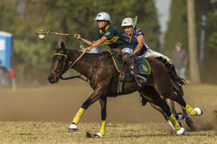 PoloCrosse World-Cup Equestrian Action Stock Image