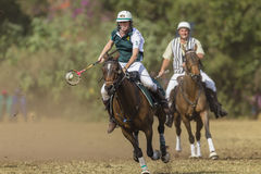 PoloCrosse World-Cup Player Action Stock Images